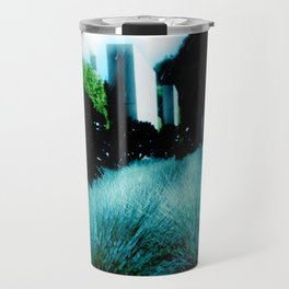Alien Landscape - Getty Museum Gardens in Los Angeles Travel Mug