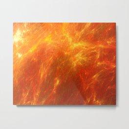 Fyre Element Metal Print
