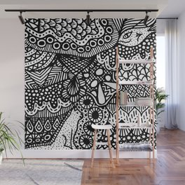 Doodle 13 Wall Mural