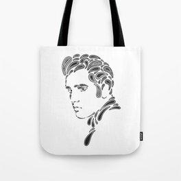Elvis Paisley Tote Bag