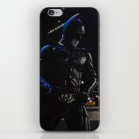 superhero iPhone & iPod Skins featuring Superhero by VAWART
