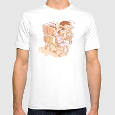 party Mens Fitted Tee White MEDIUM