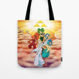 Four Goddess of Hyrule Tote Bag