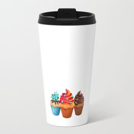 Cupcake Whisperer Bakery Chef Pastry Funny T-Shirt Travel Mug