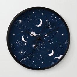 Seeing Stars Wall Clock