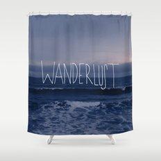 Wanderlust Ocean Shower Curtain