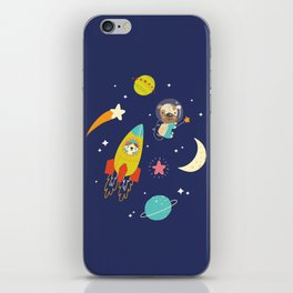 Space Critters iPhone Skin