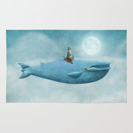 Whale Rider  Rug
