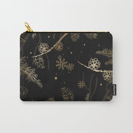 Winter Pattern 3 Carry-All Pouch