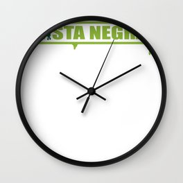 s6_t_logo6_gr Wall Clock