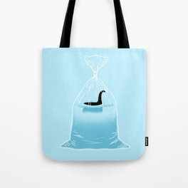 Loch Ness Golden Fish Tote Bag