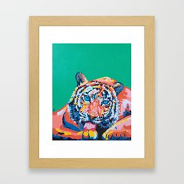 Wild Tiger Framed Art Print