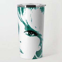 brigitte bardot - blue Travel Mug