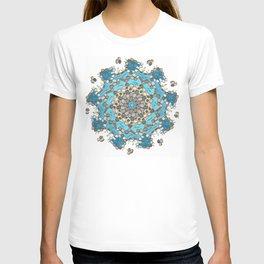 Koi Pond - Teal Version T-shirt