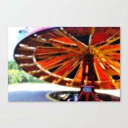 Tilt-a-Whirl Canvas Print