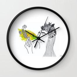 Las flores de Frida (Frida´s Flower) Wall Clock