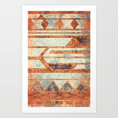 Spice and Cream Art Print
