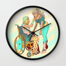 Gyro and Johnny Wall Clock