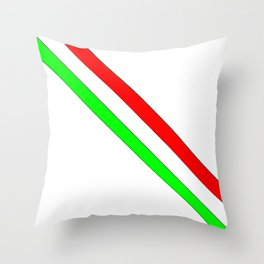 flag of Italia scarf- Italy,Italia,Italian,Latine,Roma,venezia,venice,mediterreanean,Genoa,firenze Throw Pillow