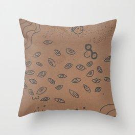 Bleh as an Idea Throw Pillow