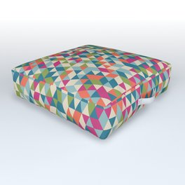 Triangles Outdoor Floor Cushion