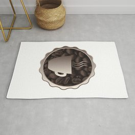 Roasted Coffee Cup Sign Rug