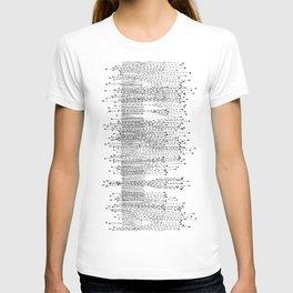 Seismograph Field T-shirt