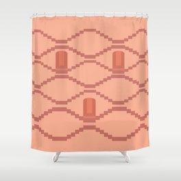 Panna Meena ka Kund, Jaipur, India Shower Curtain