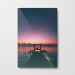 Sunrise or sunset Metal Print