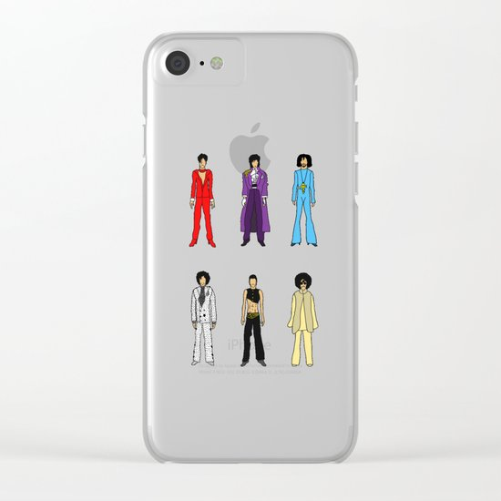 Prince Circle Group Clear iPhone Case