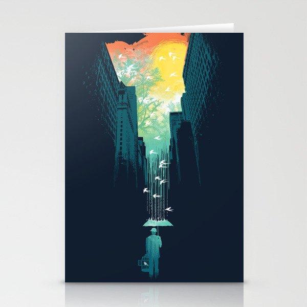 I Want My Blue Sky Stationery Cards