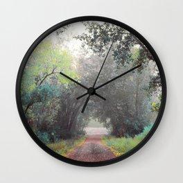 Rasmussen Woods Wall Clock