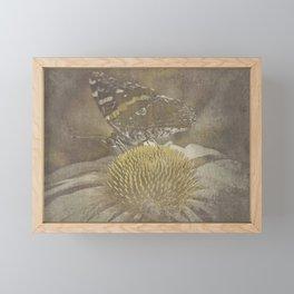 fleeting memory Framed Mini Art Print