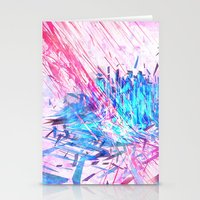 data Stationery Cards featuring Data Surge by Adom Balcom