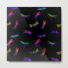 fly fly dragonfly Metal Print