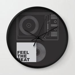 FEEL THE BEAT Wall Clock