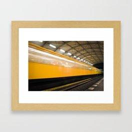 Berlin Subway Framed Art Print