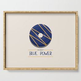 1DONUT - Blue Power Serving Tray