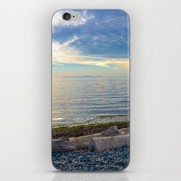 Sunset at White Rock iPhone Skin