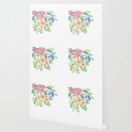 Cluster of flowers Wallpaper