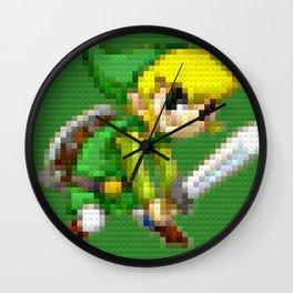 Link - Legobricks Wall Clock