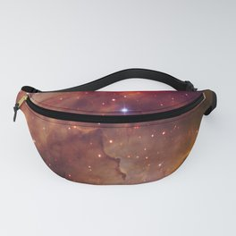picture of star by hubble: westerlund Fanny Pack