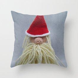 Happy White Christmas Throw Pillow