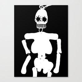 Mexican skull Canvas Print