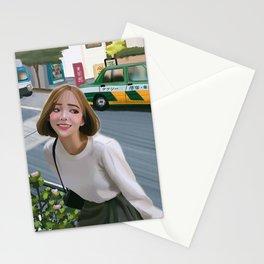 Harajuku street Stationery Cards