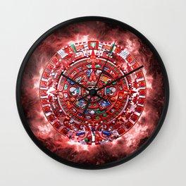 Aztec Calender Wall Clock