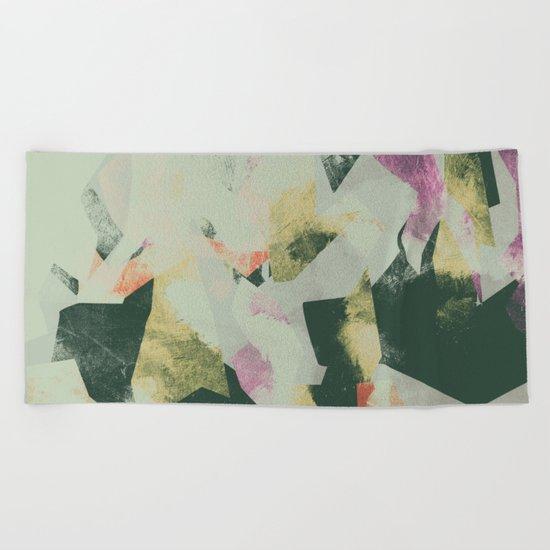 Camouflage III Beach Towel
