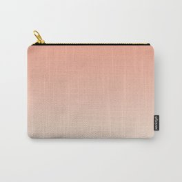 Apricot . Ombre Carry-All Pouch