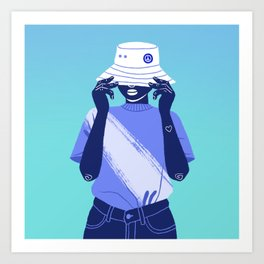 Too Cool For You Art Print