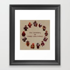 The Company of Thorin Oakenshield Framed Art Print